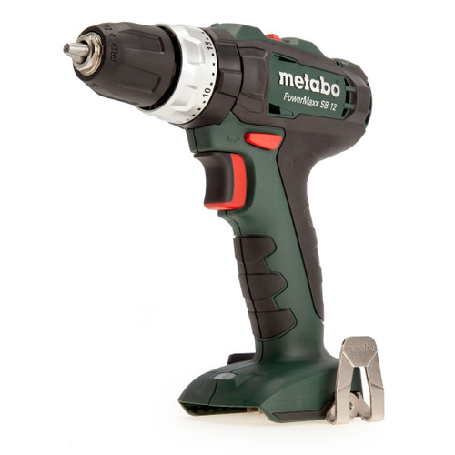 Metabo SB12 601076890 PowerMaxx 12V Hammer Drill (Body Only) - 4
