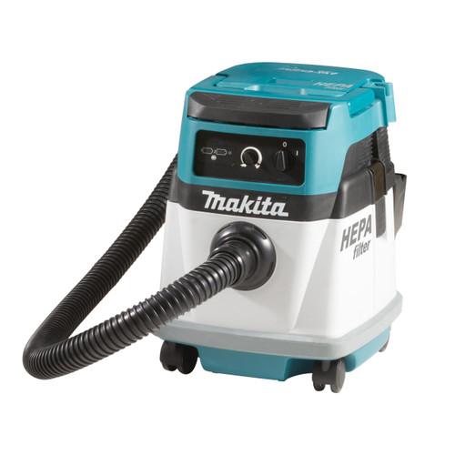 Buy Makita DVC151LZ 36V Cordless/Corded L Class Dust Extractor (Body Only) - Accepts 2 x 18V Batteries 240V at Toolstop
