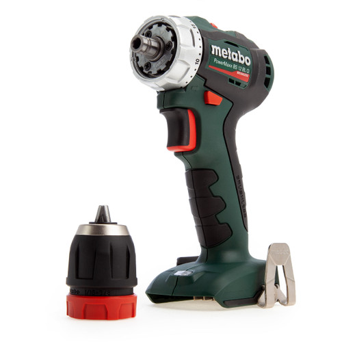 Metabo 601039890 PowerMaxx 12V BS12BLQ Brushless Drill Driver (Body Only) - 5