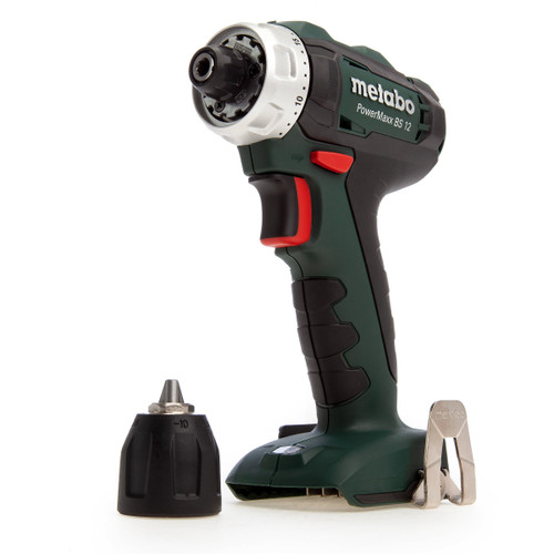 Metabo 601036890 PowerMaxx 12V BS12 Drill Driver (Body Only) - 5
