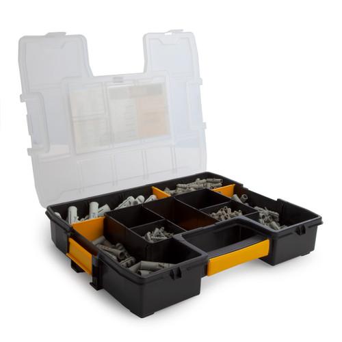 Dewalt DFMJONYPLUG Nylon Plug Kit in Organiser (395 Piece) - 2