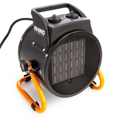 Rhino H02077 PTC3 Portable Fan Heater 3KW 240V - 4
