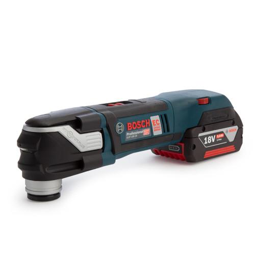 Bosch GOP 18V-28 Professional Cordless Multi Cutter (2 x 5.0Ah Batteries) - 4