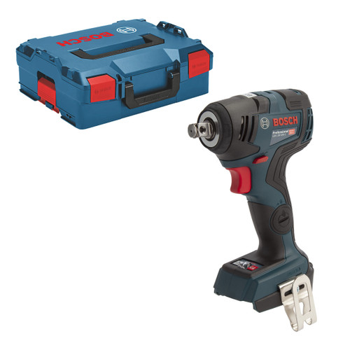 Bosch GDS 18V-200 C Professional Brushless Impact Wrench (Body Only) in L-Boxx - 1