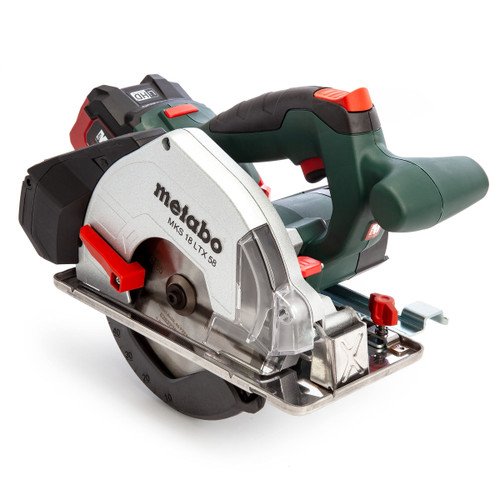 Metabo MKS18LTX57 600771700 Metal Cutting Circular Saw 165mm (2 x 5.5Ah LiHD Batteries) - 6