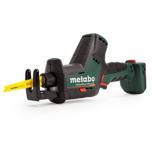 Metabo 602322890 SSE12BL PowerMaxx 12V Brushless Sabre Saw (Body Only) - 4