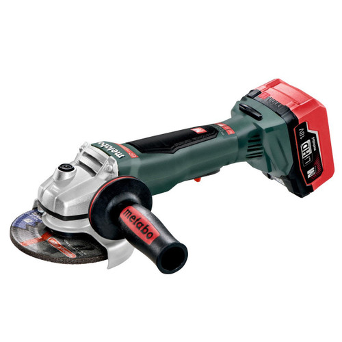 Buy Metabo WPB18LTXBL 18V 125 Quick Angle Grinder (2 x 5.5Ah LiHD Batteries) for GBP304.17 at Toolstop