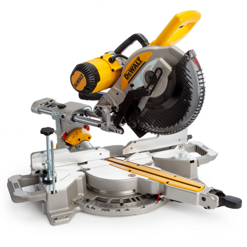 Dewalt DWS727 Double Bevel Sliding Mitre Saw with XPS 250mm 240V - 8