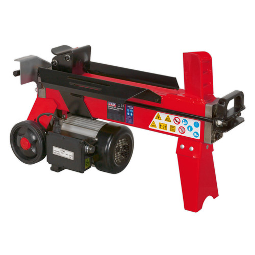 Buy Sealey LS370H Horizontal Log Splitter 4tonne 370mm Capacity at Toolstop