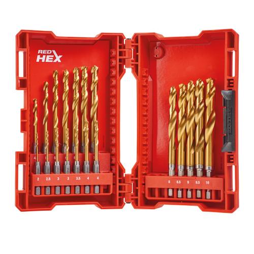 Buy Milwaukee 48894760 HSS-G Titanium Drill Set for Metal (19 Piece) at Toolstop