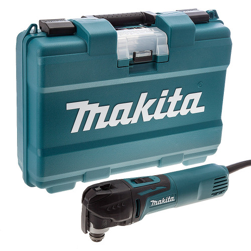 Buy Makita TM3010CK Oscillating Multi-Tool 320W with Tool-Less Accessory Change 240V at Toolstop