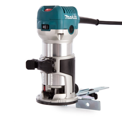 Buy Makita RT0700CX4 Router / Laminate Trimmer with Trimmer Guide 110V for GBP99.17 at Toolstop