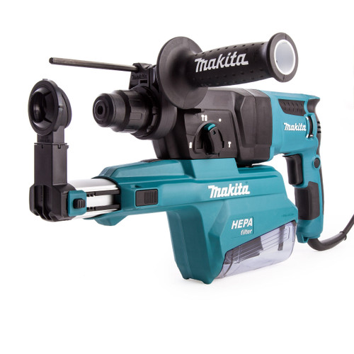 Buy Makita HR2650 26mm SDS+ 3 Mode Rotary Hammer with Self Dust Collector 240V at Toolstop