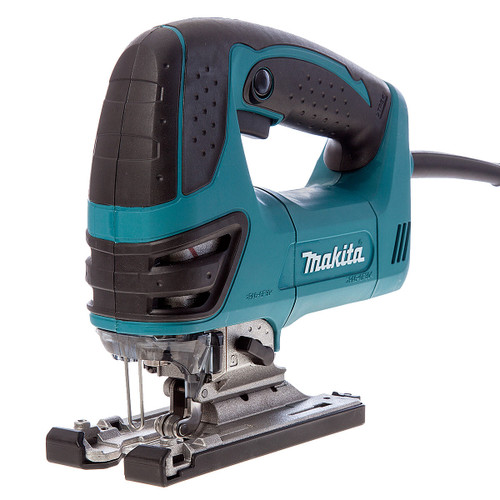 Buy Makita 4350CT Jigsaw Orbital Action with Tool-less Blade Fixing 110V for GBP115.83 at Toolstop