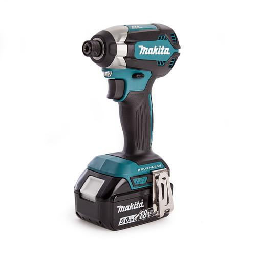 Buy Makita DTD153RTJ 18V Brushless Impact Driver (2 x 5.0Ah Batteries) at Toolstop