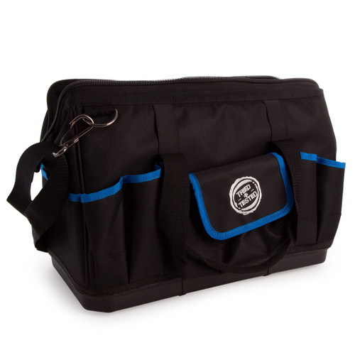 """Buy Tried + Tested TT150 Hard Bottom Tool Bag 16"""" for GBP13.33 at Toolstop"""