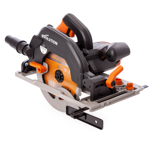 Buy Evolution R185CCSX+ TCT Multi-Material Circular Saw 185mm 110V for GBP70.83 at Toolstop