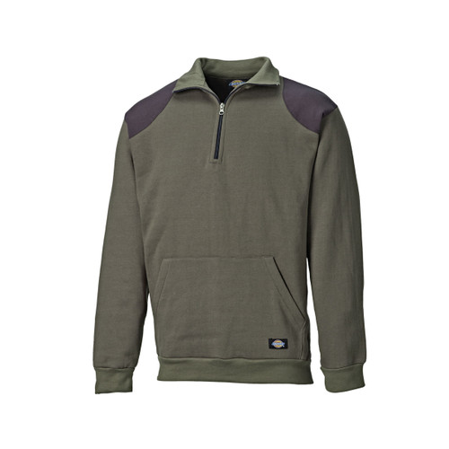 Buy Dickies AG8500 Kendrick Sweatshirt (Dark Moss Green) at Toolstop