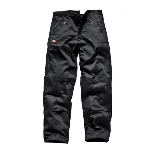 Buy Dickies WD814 Redhawk Multi Pocket Action Trousers (Black) at Toolstop