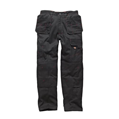 Buy Dickies WD801 Redhawk Multi Pocket Work Trousers (Black) at Toolstop