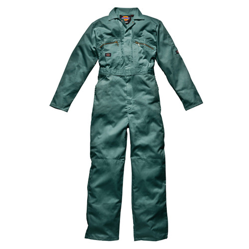 Buy Dickies WD4839 Front Zip Redhawk Coverall - Lincoln Green for GBP0 at Toolstop