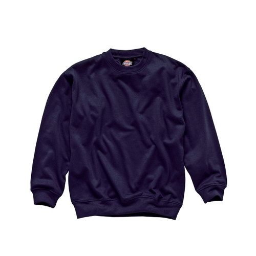 Buy Dickies SH11125 Crew Neck Sweatshirt (Navy) at Toolstop