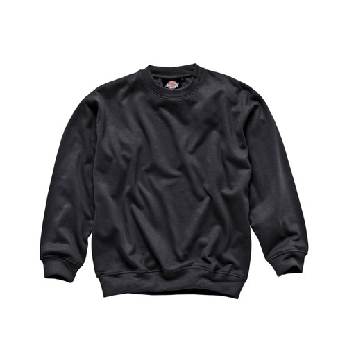Buy Dickies SH11125 Crew Neck Sweatshirt (Black) at Toolstop