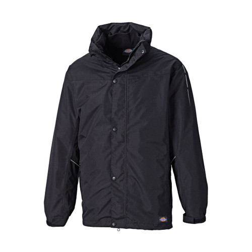 Buy Dickies JW10500 Abbot 3 in 1 Jacket (Black) at Toolstop