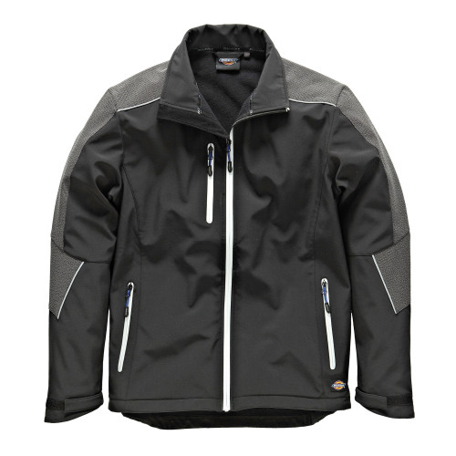 Buy Dickies JW7009 Glenwood Waterproof Breathable Softshell Jacket in Black at Toolstop