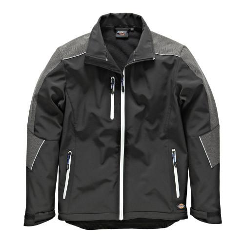 Buy Dickies JW7009 Glenwood Waterproof Breathable Softshell Jacket in Black at Toolstop