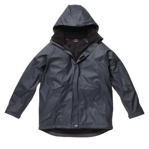 Buy Dickies WP50000 Raintite Waterproof Jacket (Navy) at Toolstop