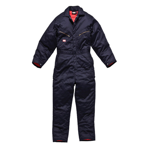 Buy Dickies WD2360R Quilted Lined Coverall with Pockets (Navy) at Toolstop