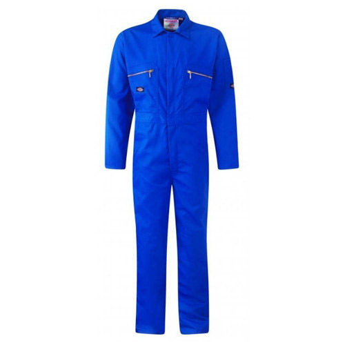 Buy Dickies WD4839 Front Zip Redhawk Coverall - Royal Blue at Toolstop