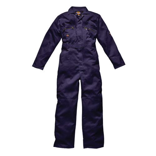 Buy Dickies WD4839 Front Zip Redhawk Coverall - Navy Blue at Toolstop