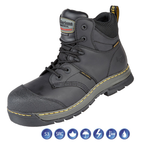 Buy Dr Martens 6920 Surge ST Black Waterproof Metal Free Safety Boot (Heat & Water Resistant) at Toolstop