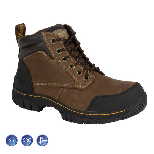 Buy Dr Martens 6665 Riverton ST Brown Safety Boot (Heat & Slip Resistant) at Toolstop