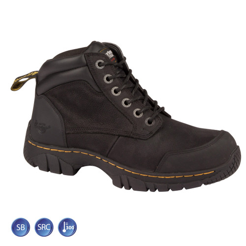 Buy Dr Martens 6664 Riverton ST Black Safety Boot (Heat & Slip Resistant) at Toolstop