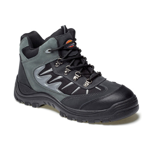 Buy Dickies FA23385A Storm Super Safety Trainer Grey / Black at Toolstop