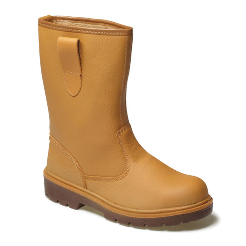 Buy Dickies FA23350 Safety Rigger Boot Lined (Tan) at Toolstop