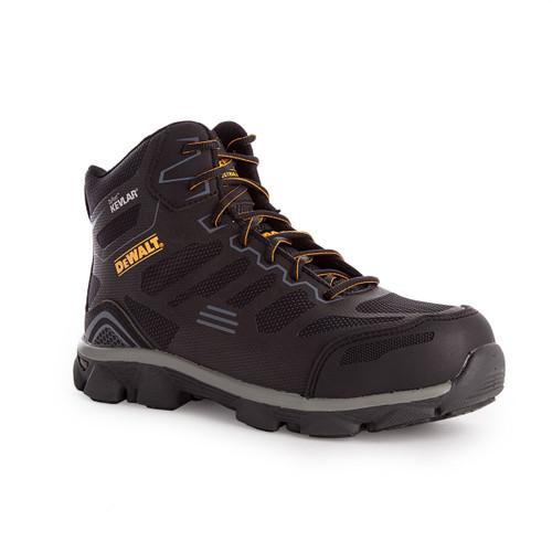 Buy Dewalt DWF50123-166 Black Kevlar Crossfire Mid S3 Safety Boot at Toolstop