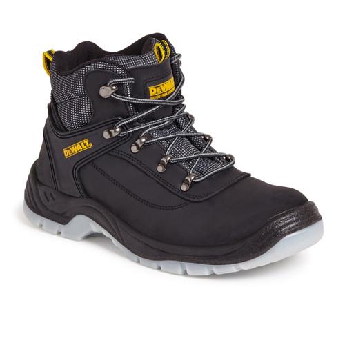 Buy Dewalt Laser Safety Hiker Boot 200 Joule Toecap in Black at Toolstop