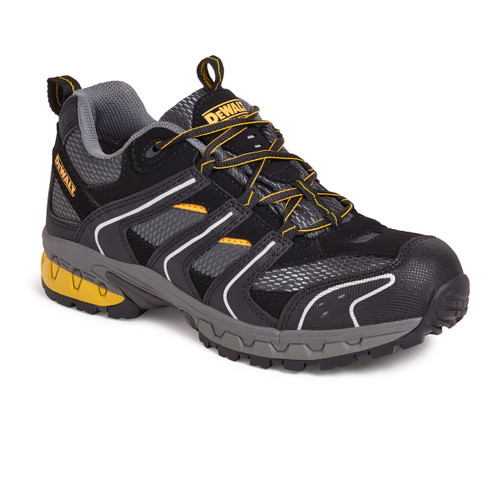 Buy Dewalt Cutter Lightweight Safety Trainer 200 Joule Toecap Black / Grey at Toolstop