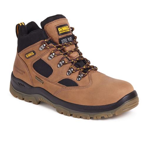 Buy Dewalt Challenger 3 Waterproof Sympatex Safety Hiker Boot in Brown at Toolstop
