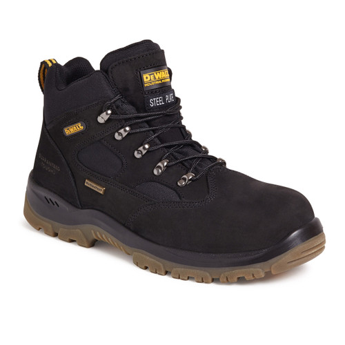 Buy Dewalt Challenger 3 Waterproof Sympatex Safety Hiker Boot in Black at Toolstop