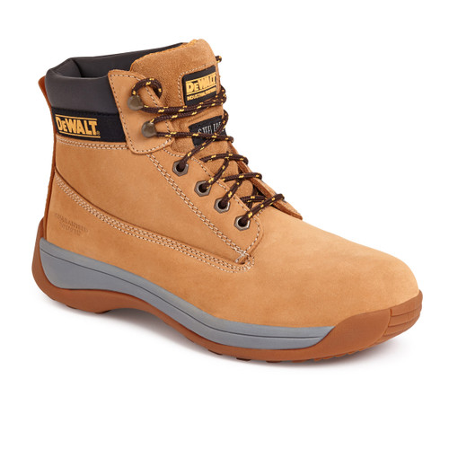Buy Dewalt Apprentice Honey Nubuck Safety Hiker Boot 200 Joules Toe Cap at Toolstop
