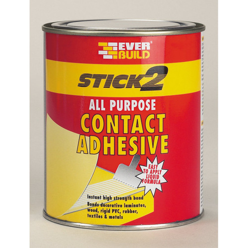 Buy Everbuild CON Stick 2 All Purpose Beige Contact Adhesive at Toolstop