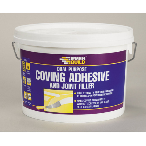 Buy Everbuild COVE White Coving Adhesive & Joint Filler at Toolstop