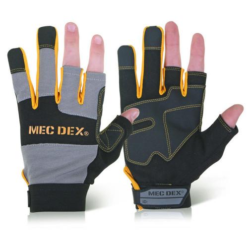 Buy Beeswift BS048 Mec Dex Mechanics 3 Digit Gloves at Toolstop