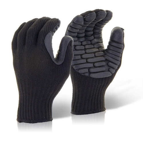 Buy Beeswift BS054 Glovezilla Anti Vibration Glove Black at Toolstop