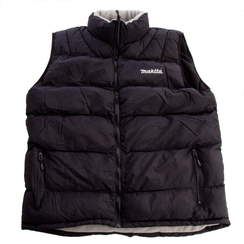 Buy Makita MM4 Bodywarmer MW705 Black at Toolstop